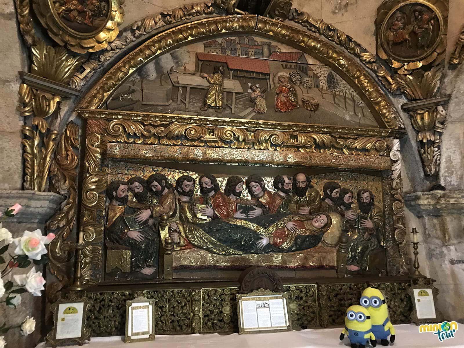 Camarín de la Virgen de As Ermitas