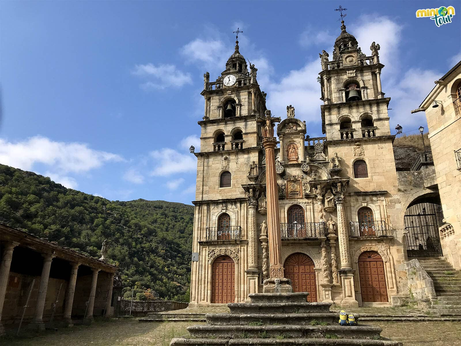 Minions en el Santuario de Nuestra Señora de Las Ermitas
