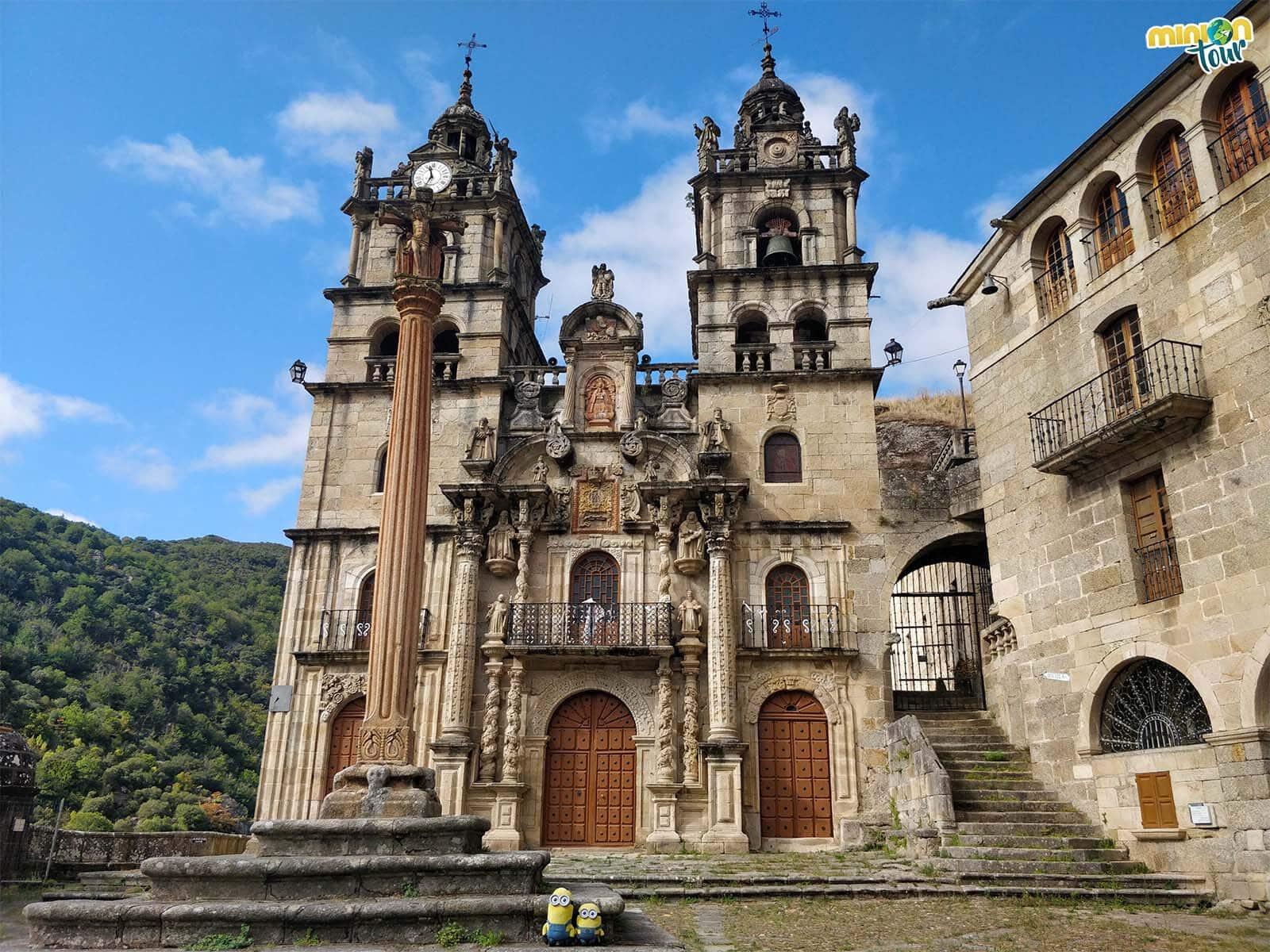 Minions en el Santuario de la Virgen de Las Ermitas