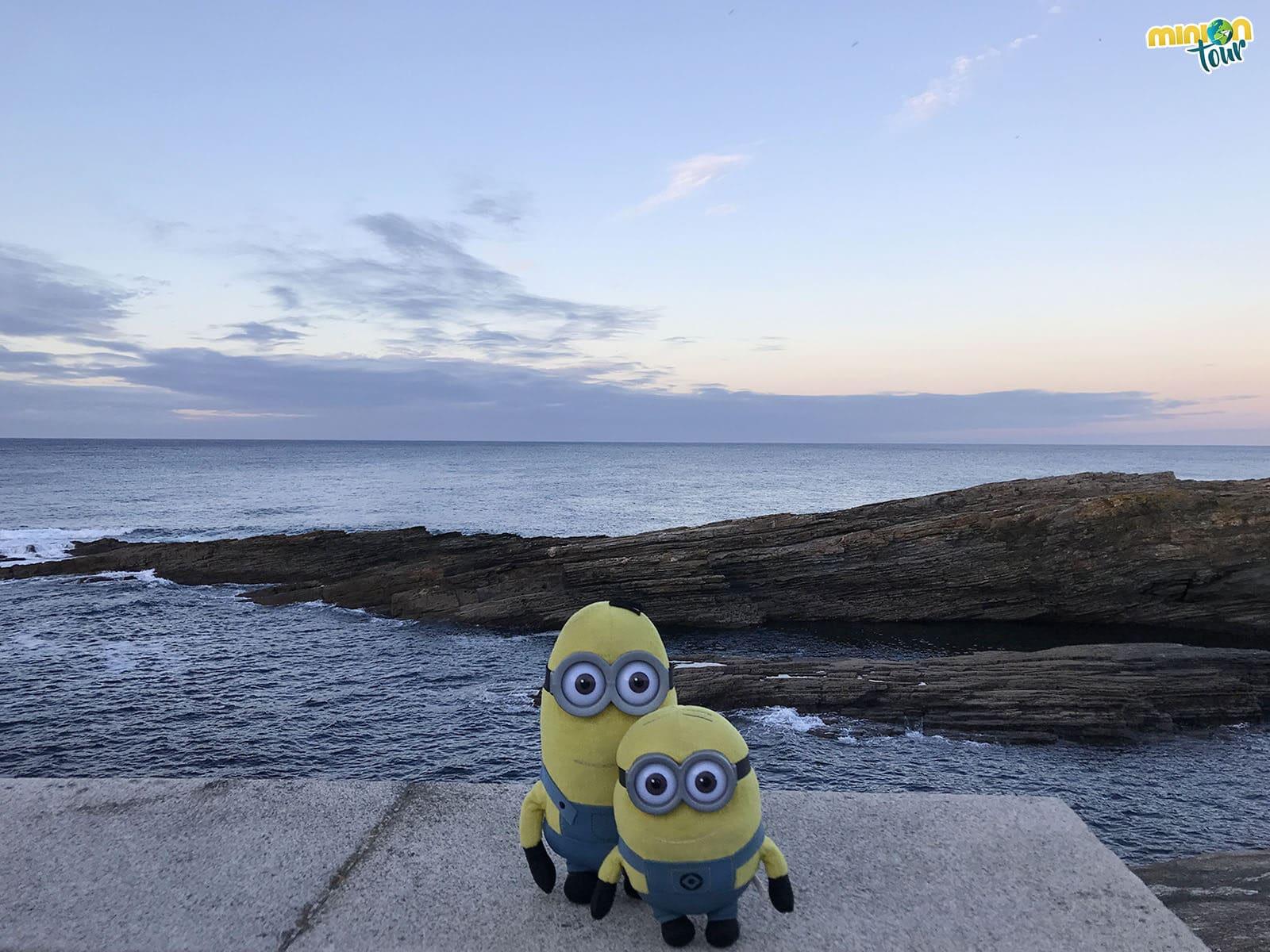 El mar es una de las cosas que tienes que ver en Rinlo