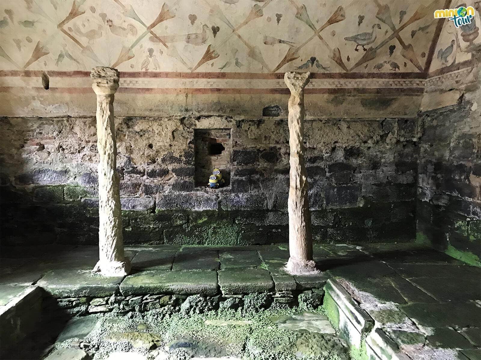 Pues igual Santa Eulalia de Bóveda era un ninfeo