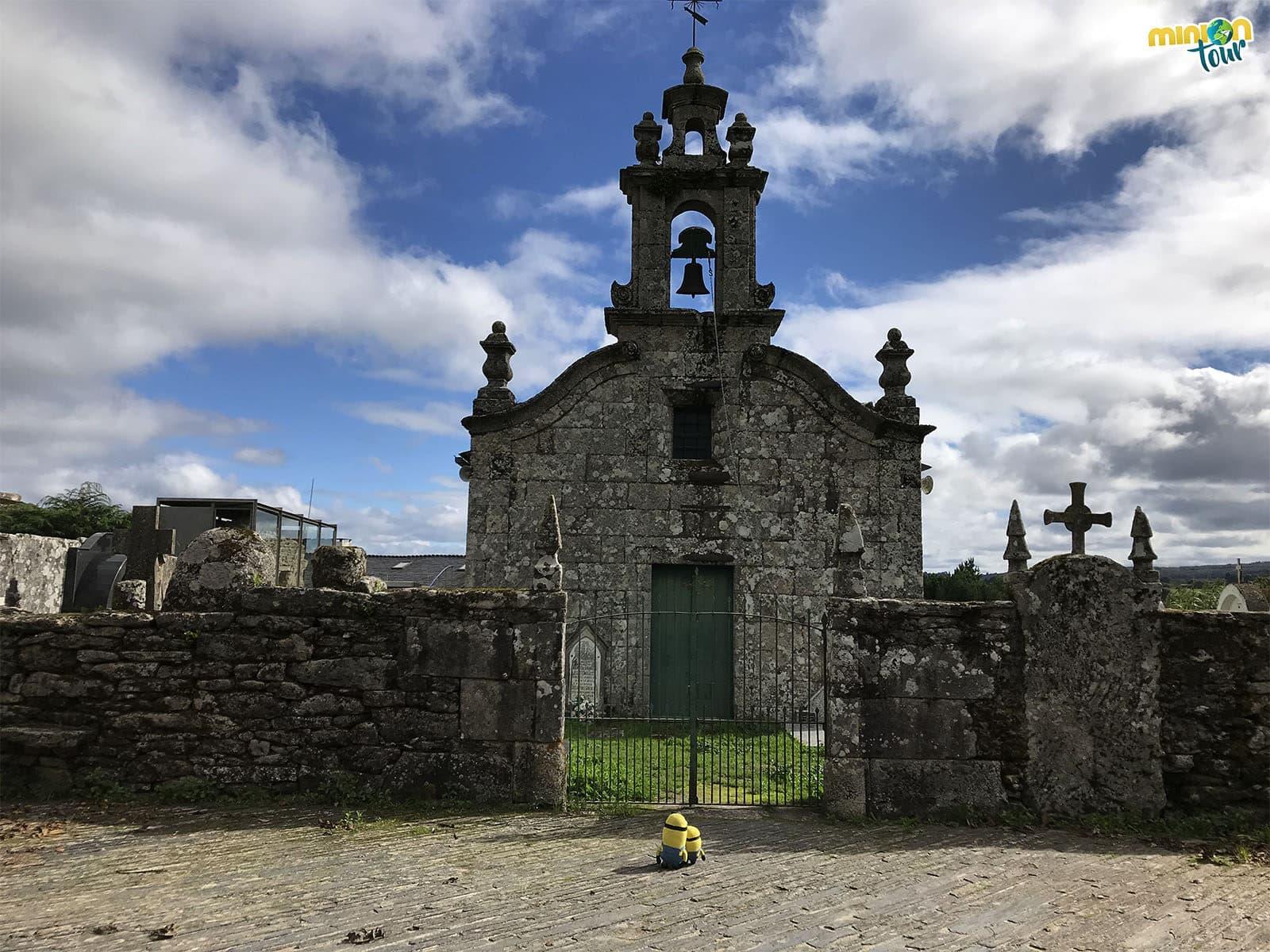 Subimos hasta la iglesia parroquial de Santa Eulalia de Bóveda de Mera