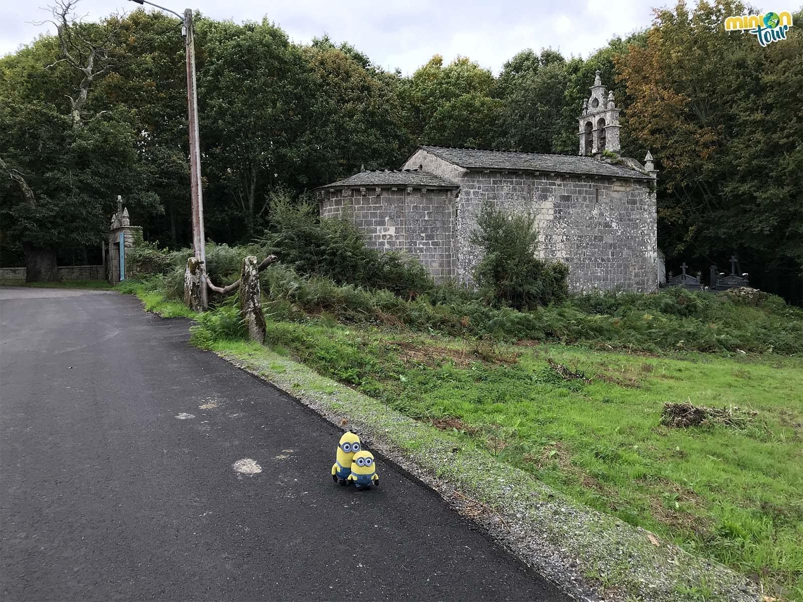 Nos hemos encontrado una iglesia muy chula