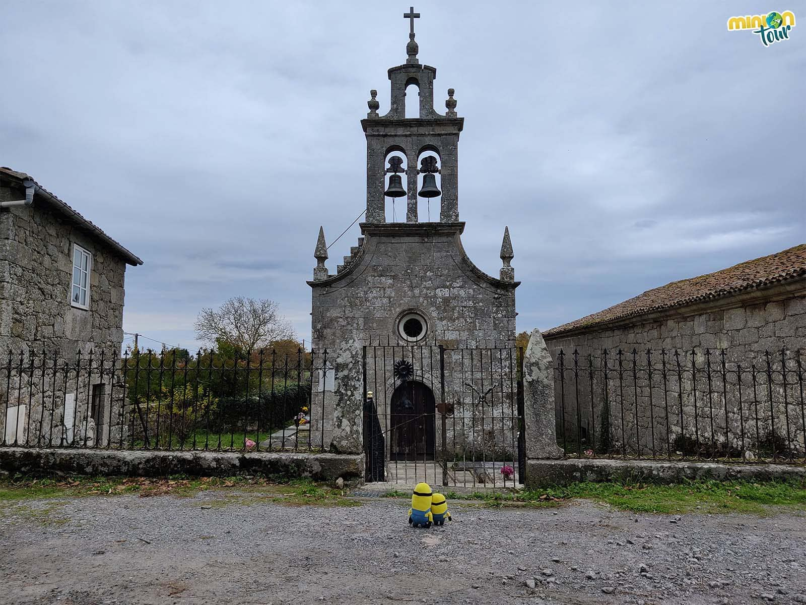 Hemos llegado a la Iglesia de Mosteiro