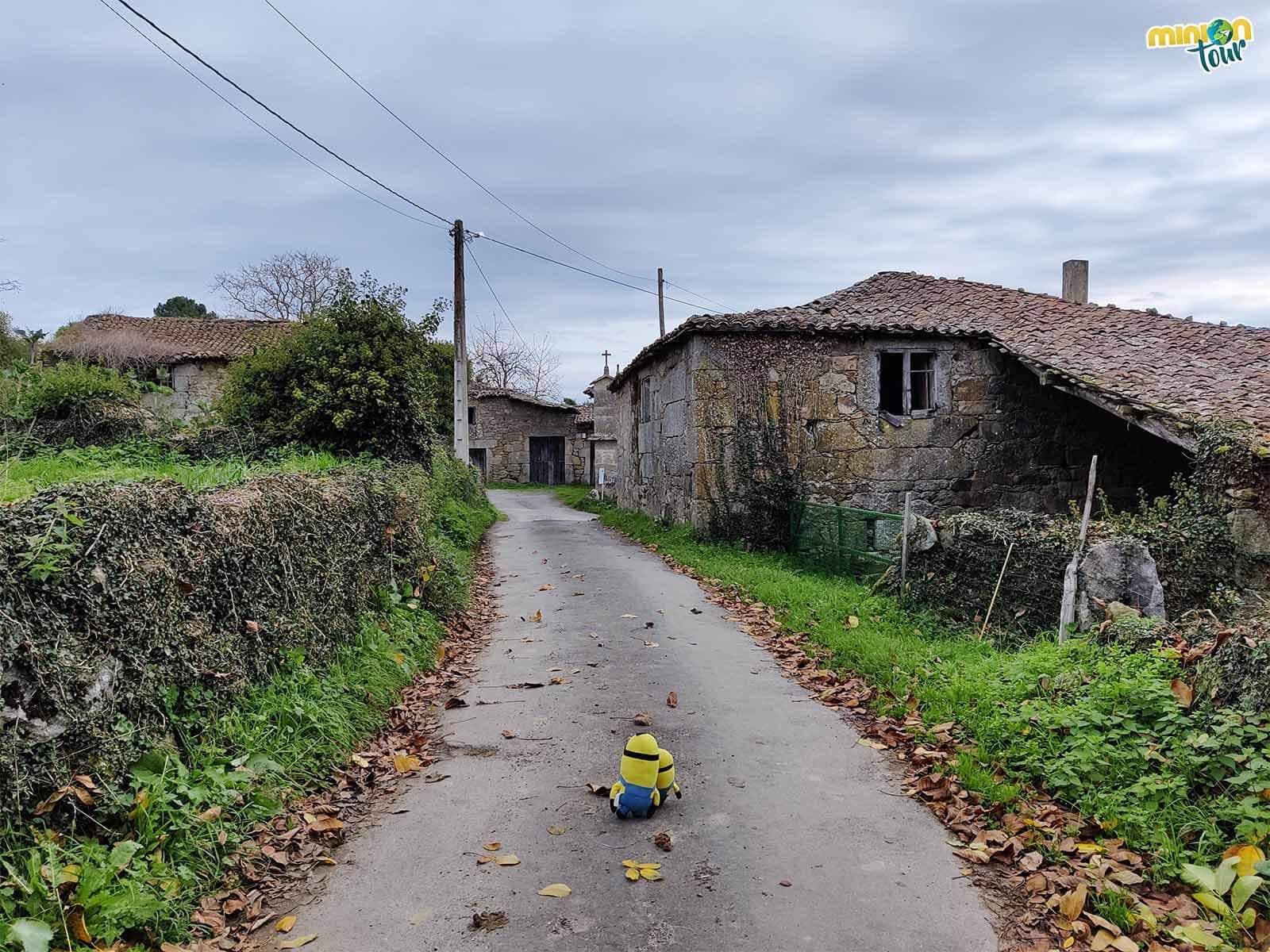 Paseando por la aldea de Xillán en la comarca de Chantada