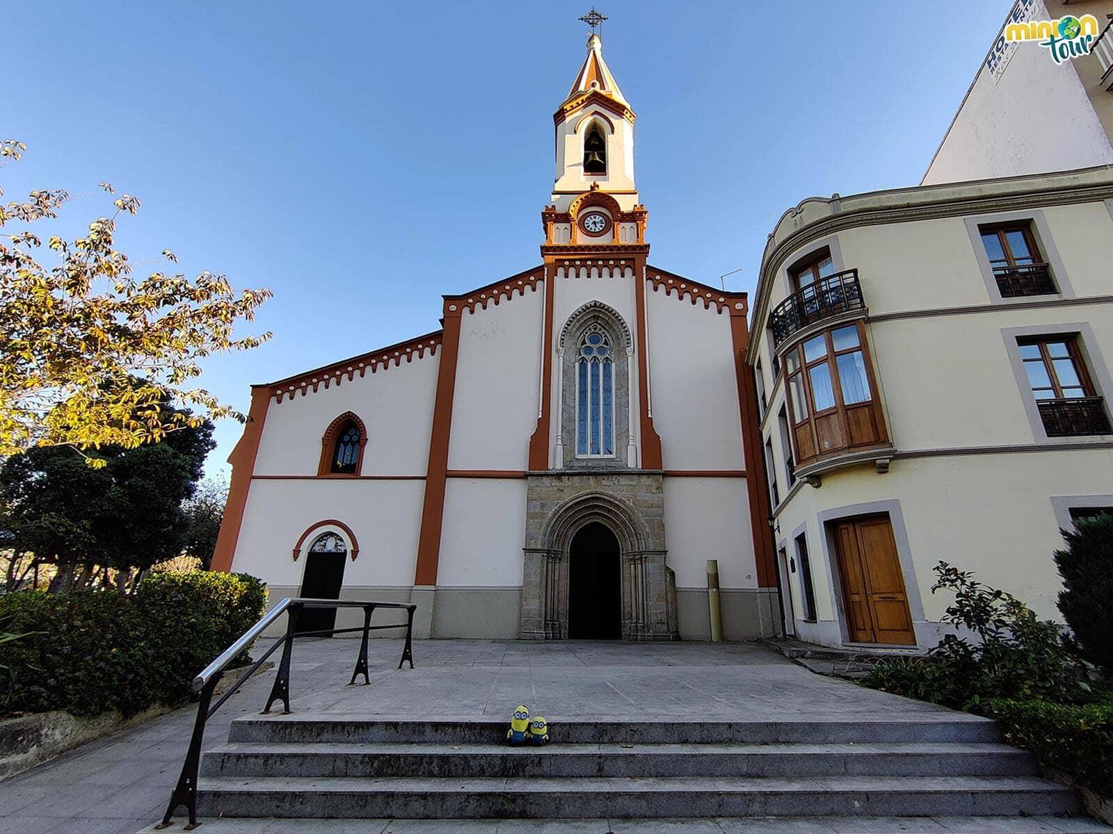 La Iglesia de Santa María do Campo es muy grande