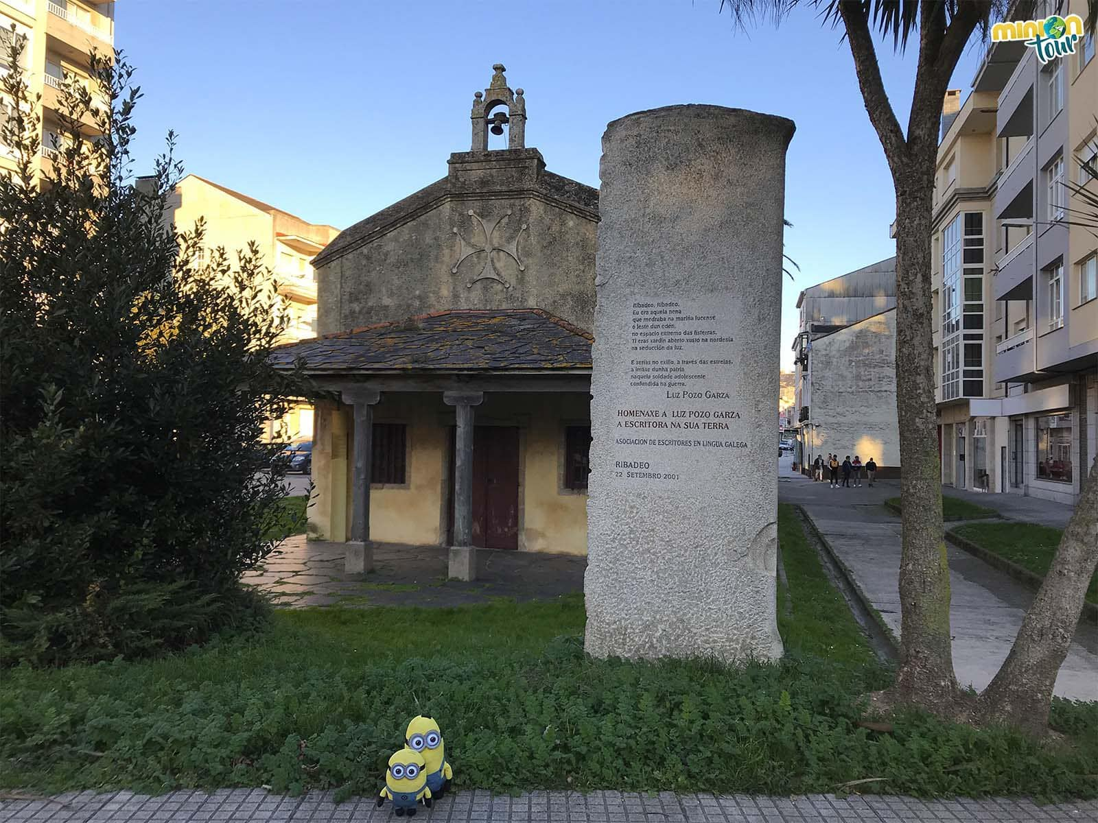 Minions en la Capilla de la Virgen del Camino