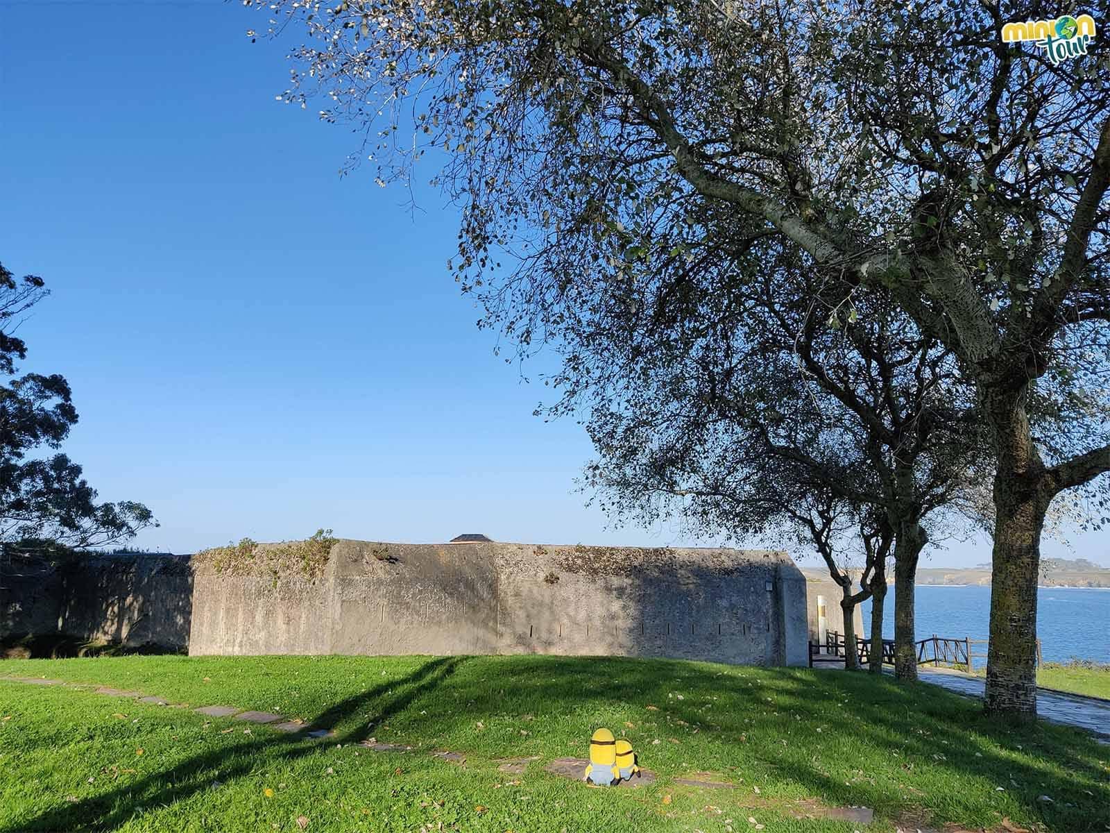 Una de las cosas que ver en Ribadeo es el Fuerte de San Damián