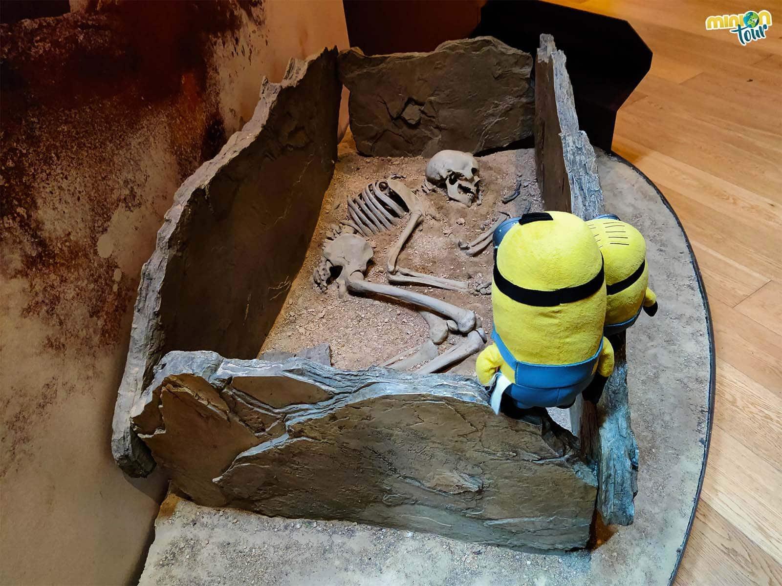 Esta es la posición en la que solían enterrar a sus seres queridos