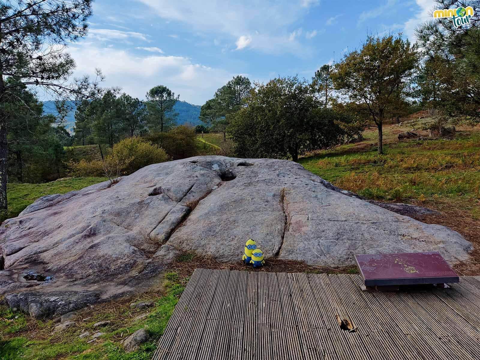 Nuestro primer petroglifo es el de Laxe da Forneiriña