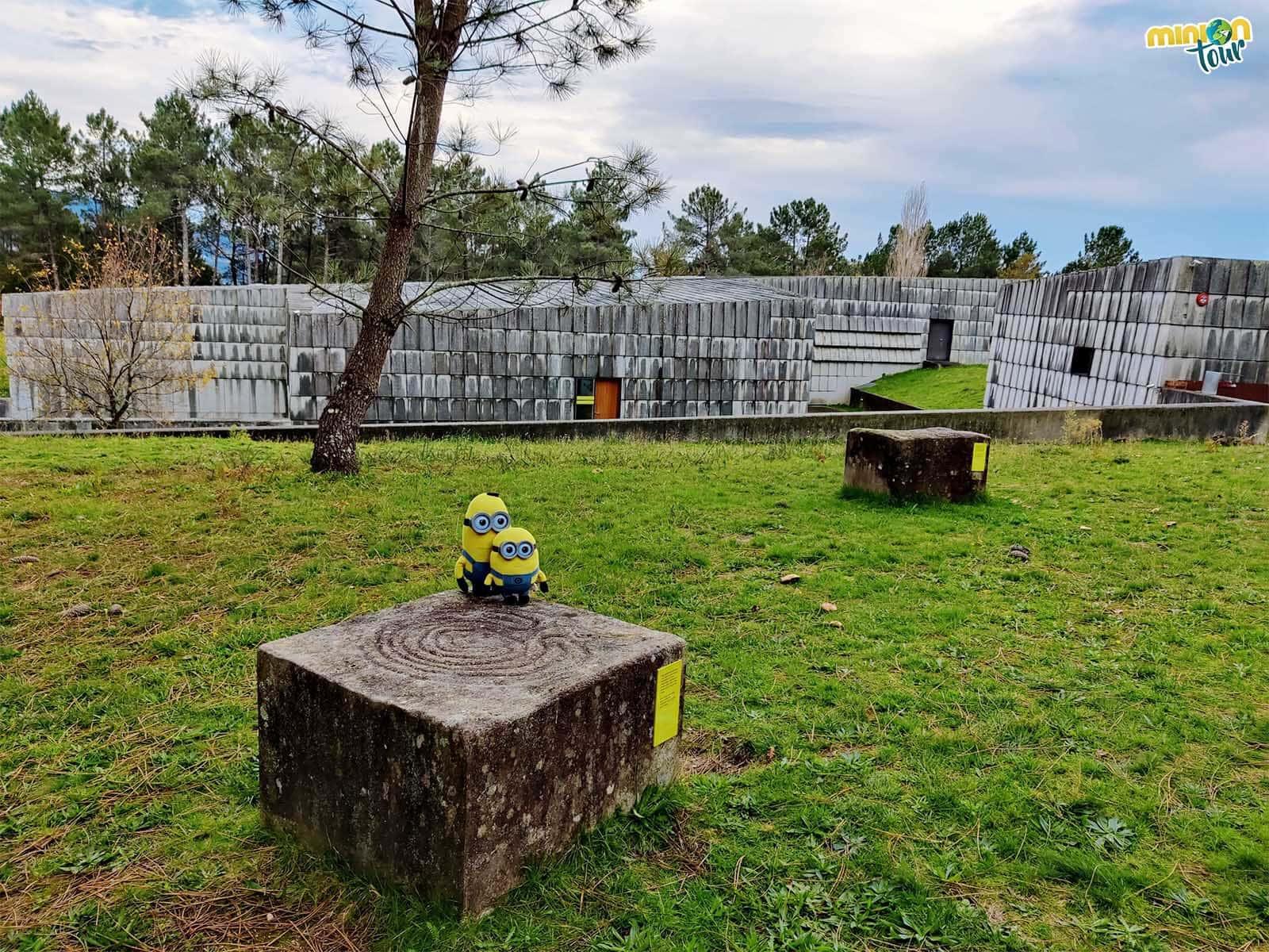 Estos son los únicos petroglifos que puedes tocar en el Parque Arqueológico del Arte Rupestre de Campo Lameiro