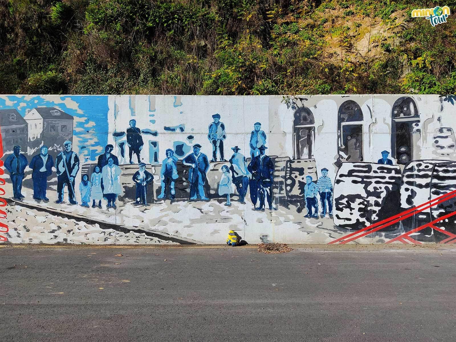 Descubriendo la historia en los murales de Os Peares