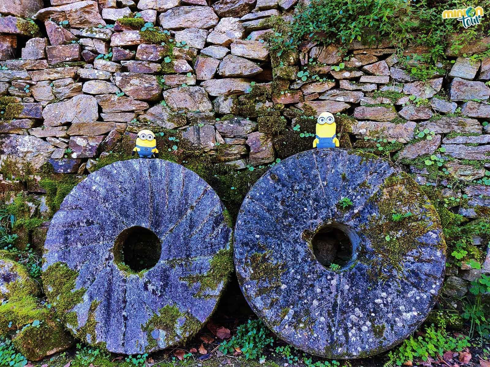 Nos hemos encontrado con las piedras del molino