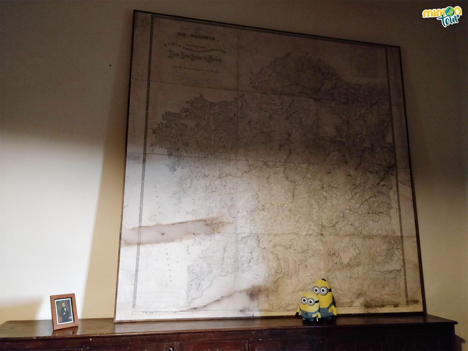 Cotilleando la Carta Geométrica de Galicia de Domingo Fontán