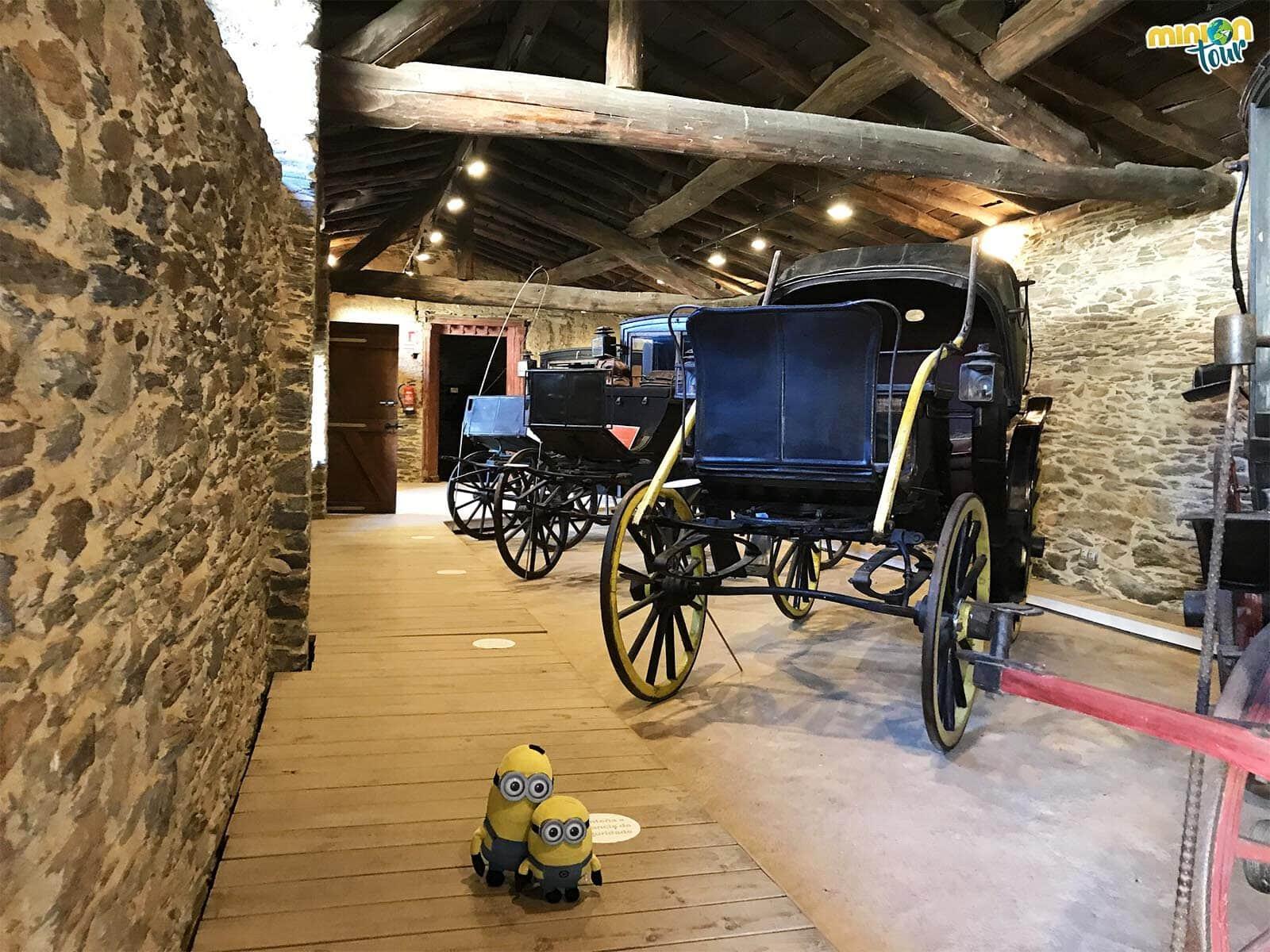En el Pazo de Tor hay hasta carruajes antiguos