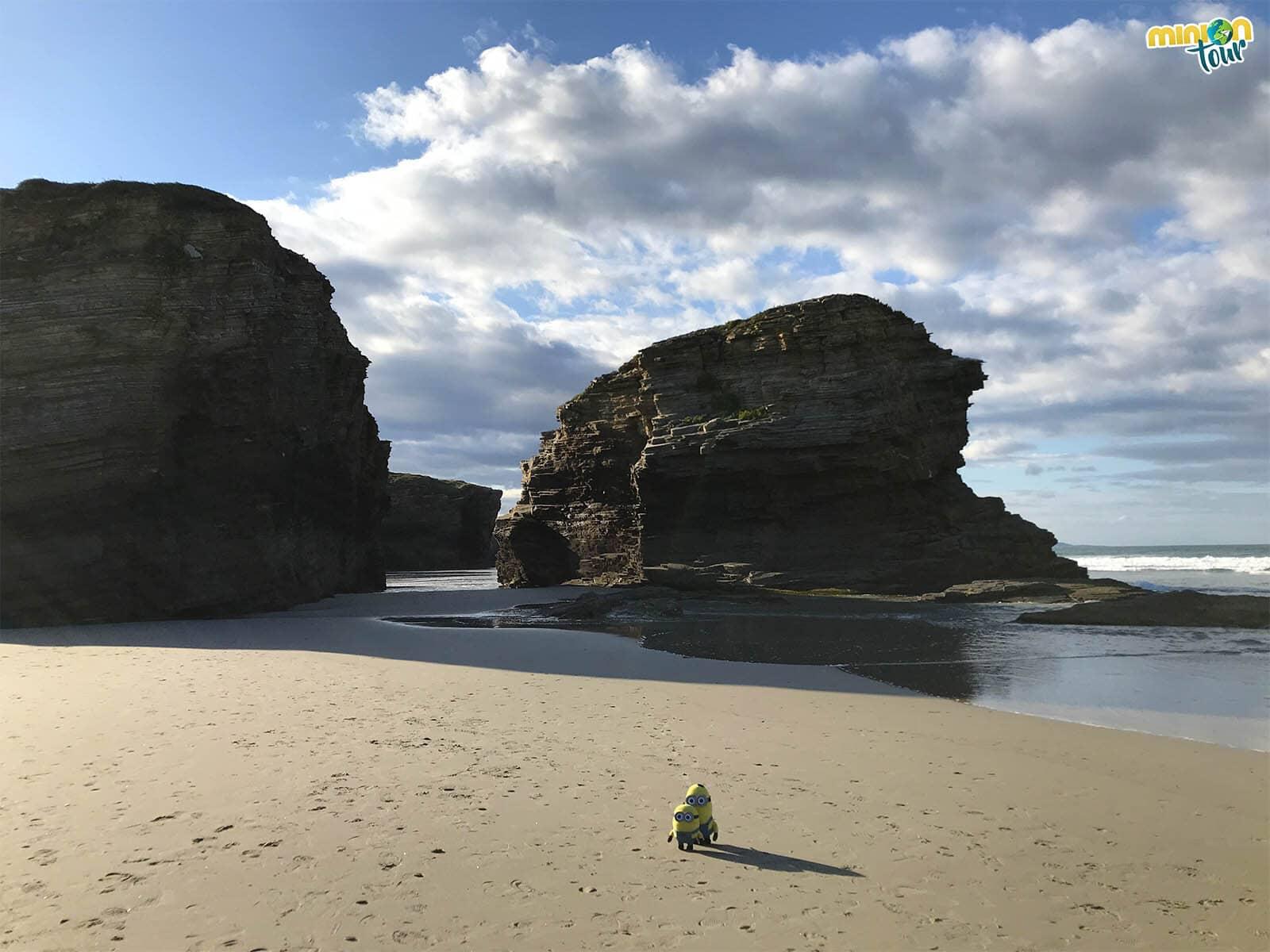 Estamos buscando las catedrales de la playa