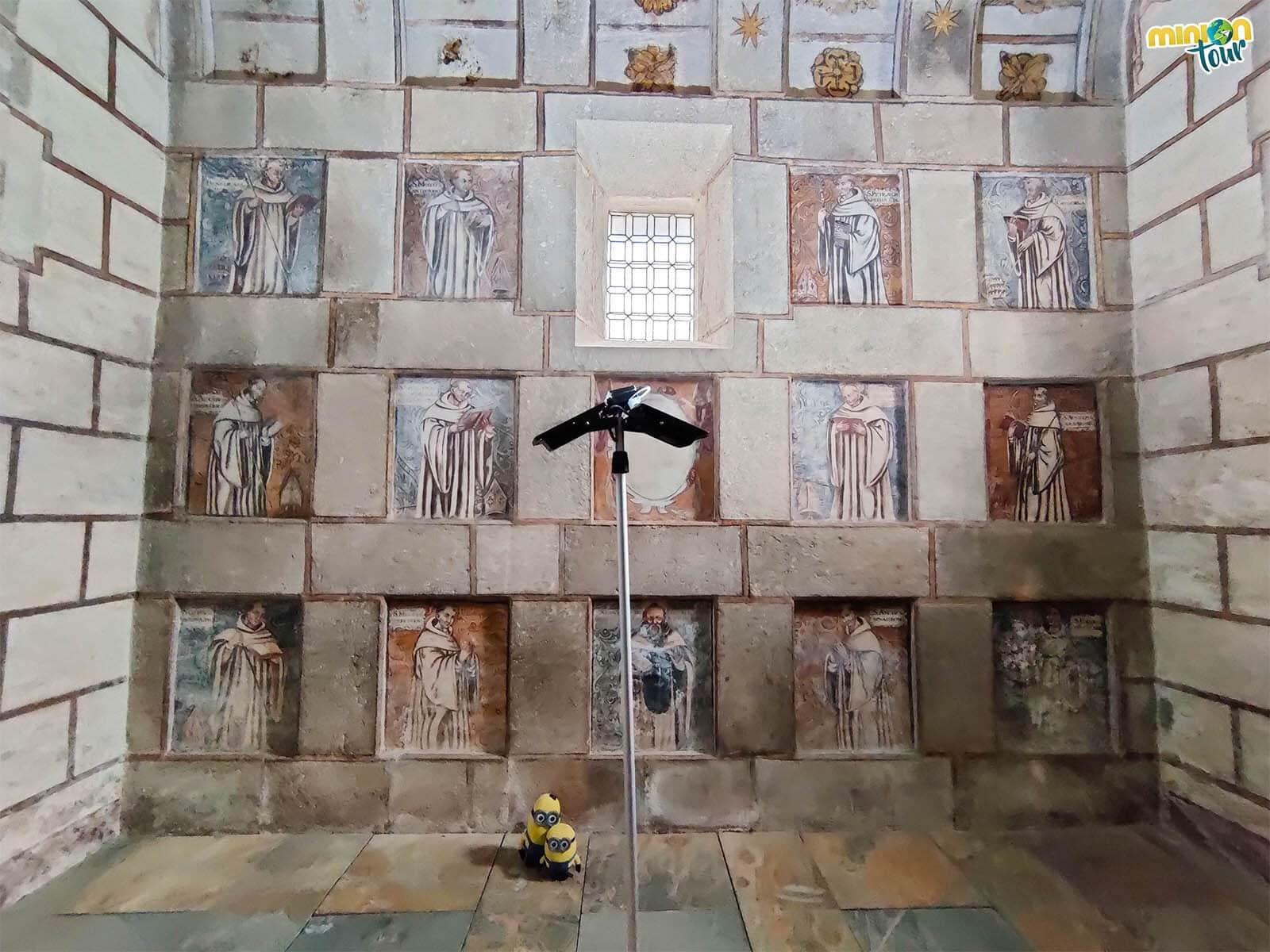 Alucinando con las pinturas murales de la Iglesia de Santa María de Meira