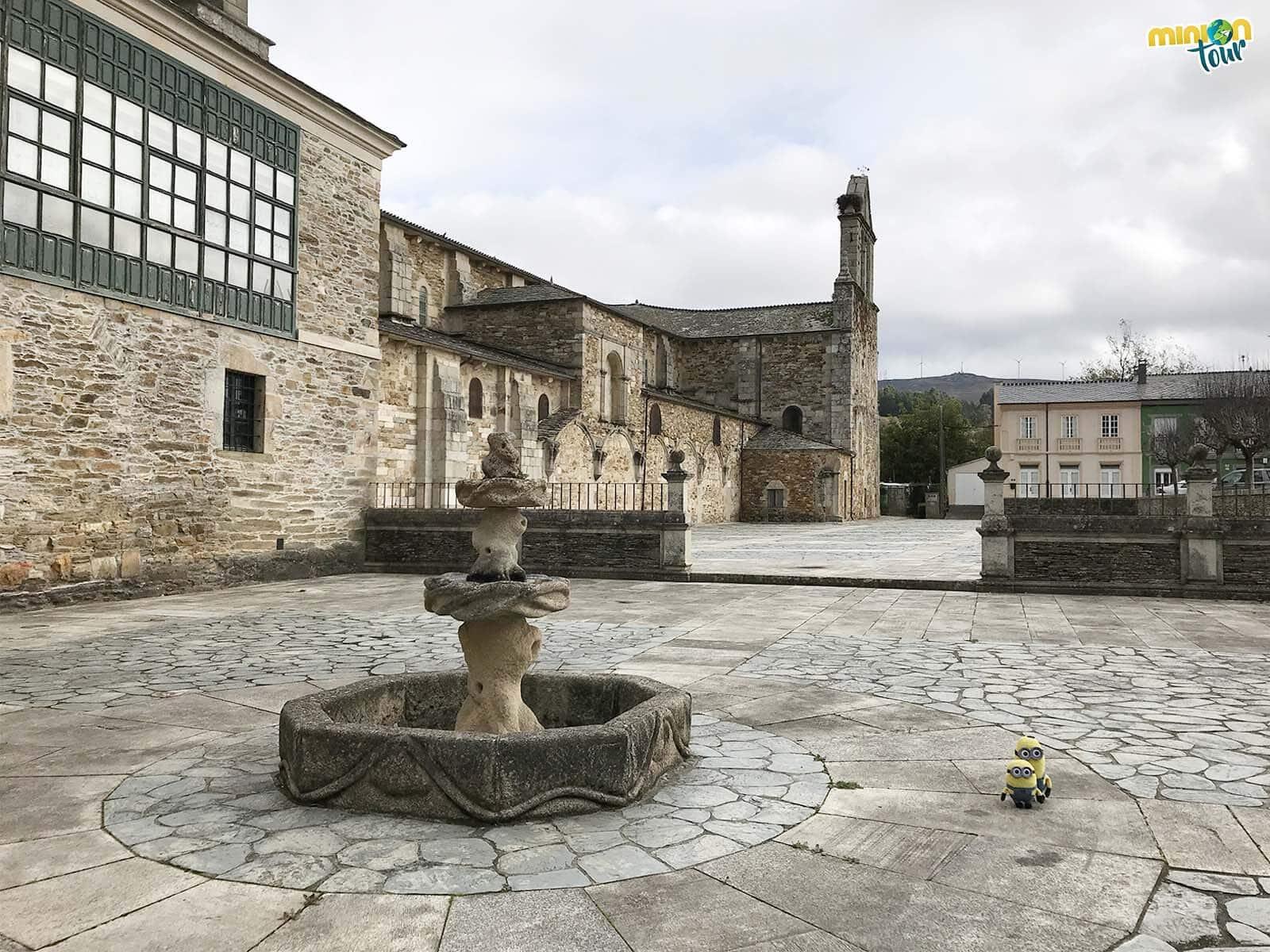 Paseando por el Monasterio de Santa María de Meira