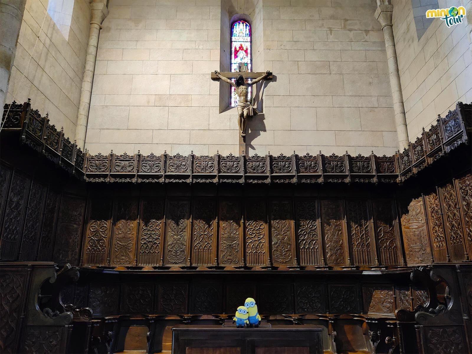 Minions en el coro de la Catedral de Mondoñedo