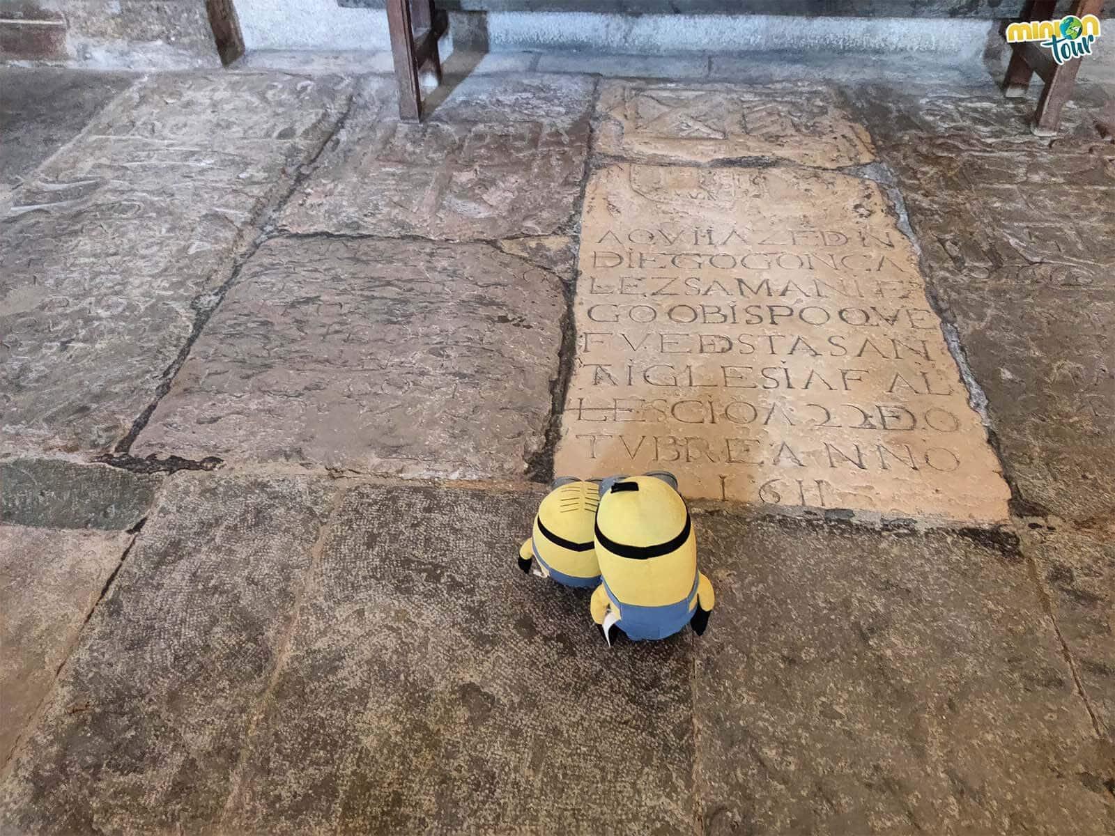 Enterramientos de la Catedral de Mondoñedo