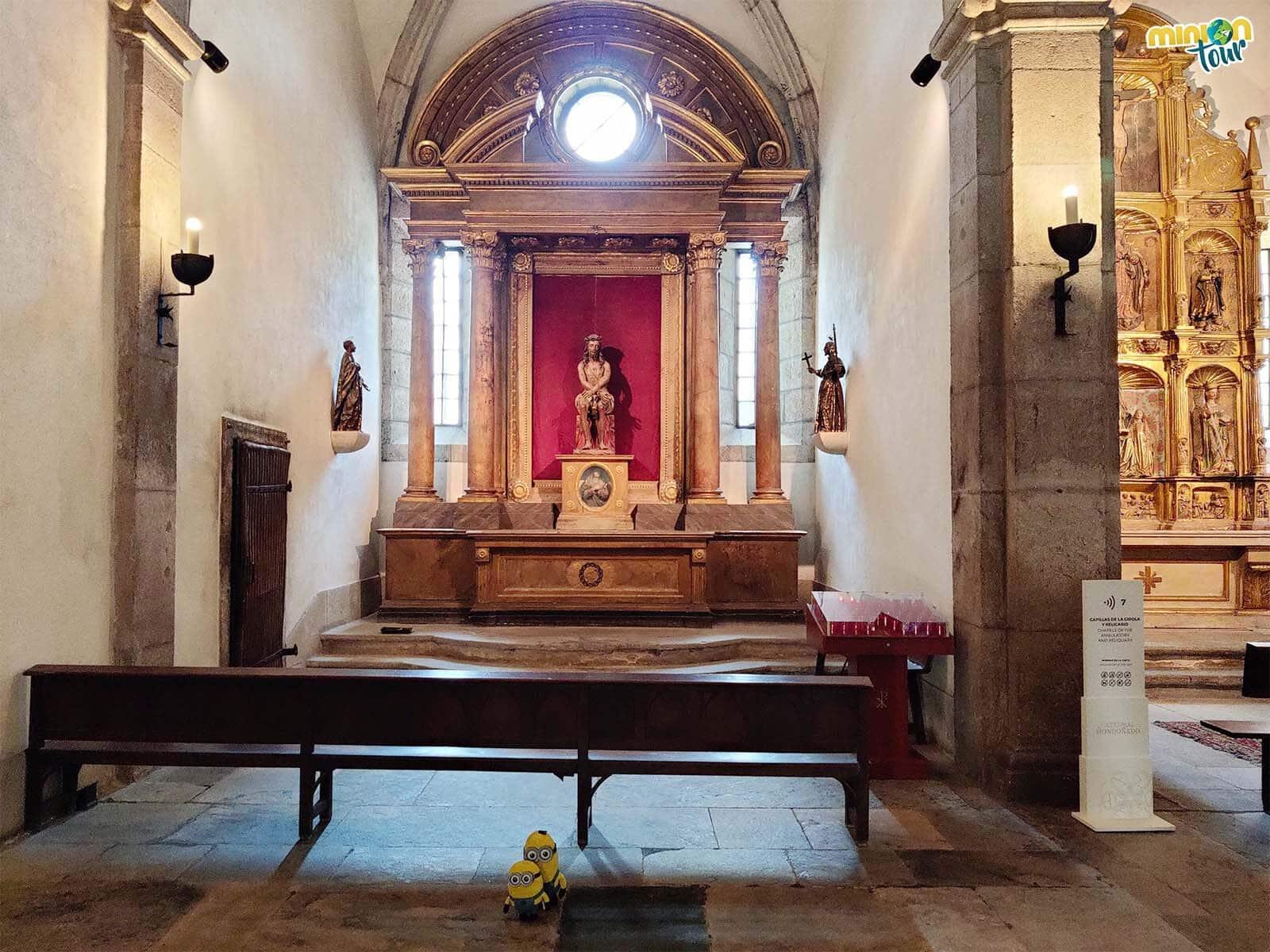 La capilla cambió de nombre porque le pusieron un Ecce Homo