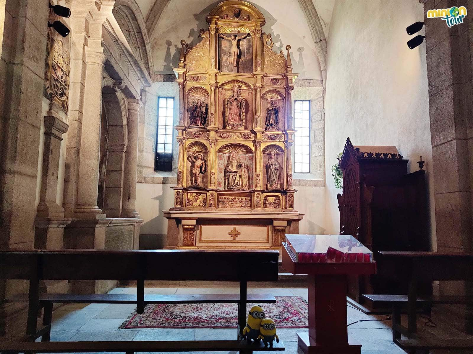 El retablo de la Capilla de la Inmaculada es muy interesante