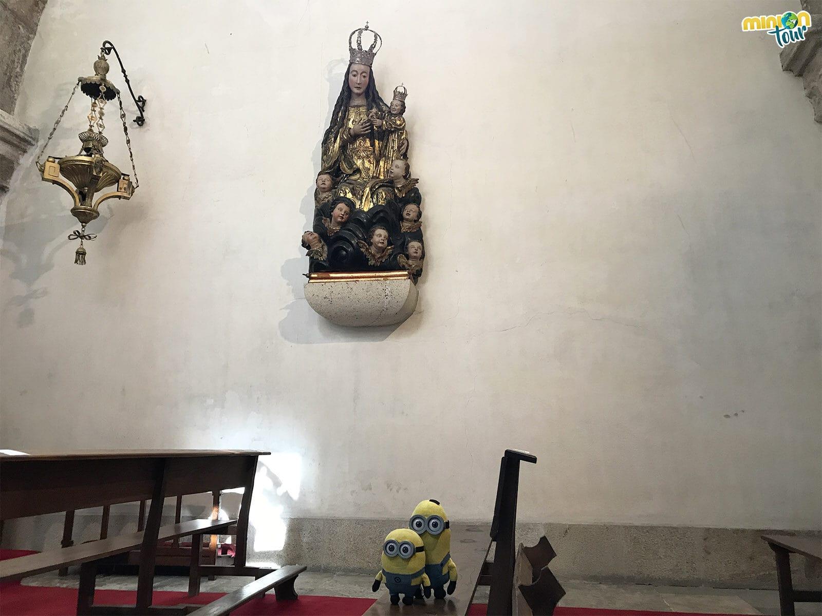 En la Catedral de Mondoñedo hay una Virgen inglesa