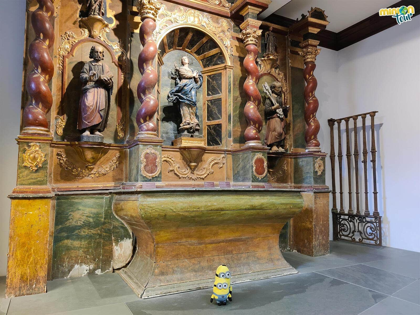 Retablo de la Capilla de San Ignacio de Loyola de la Catedral de Mondoñedo