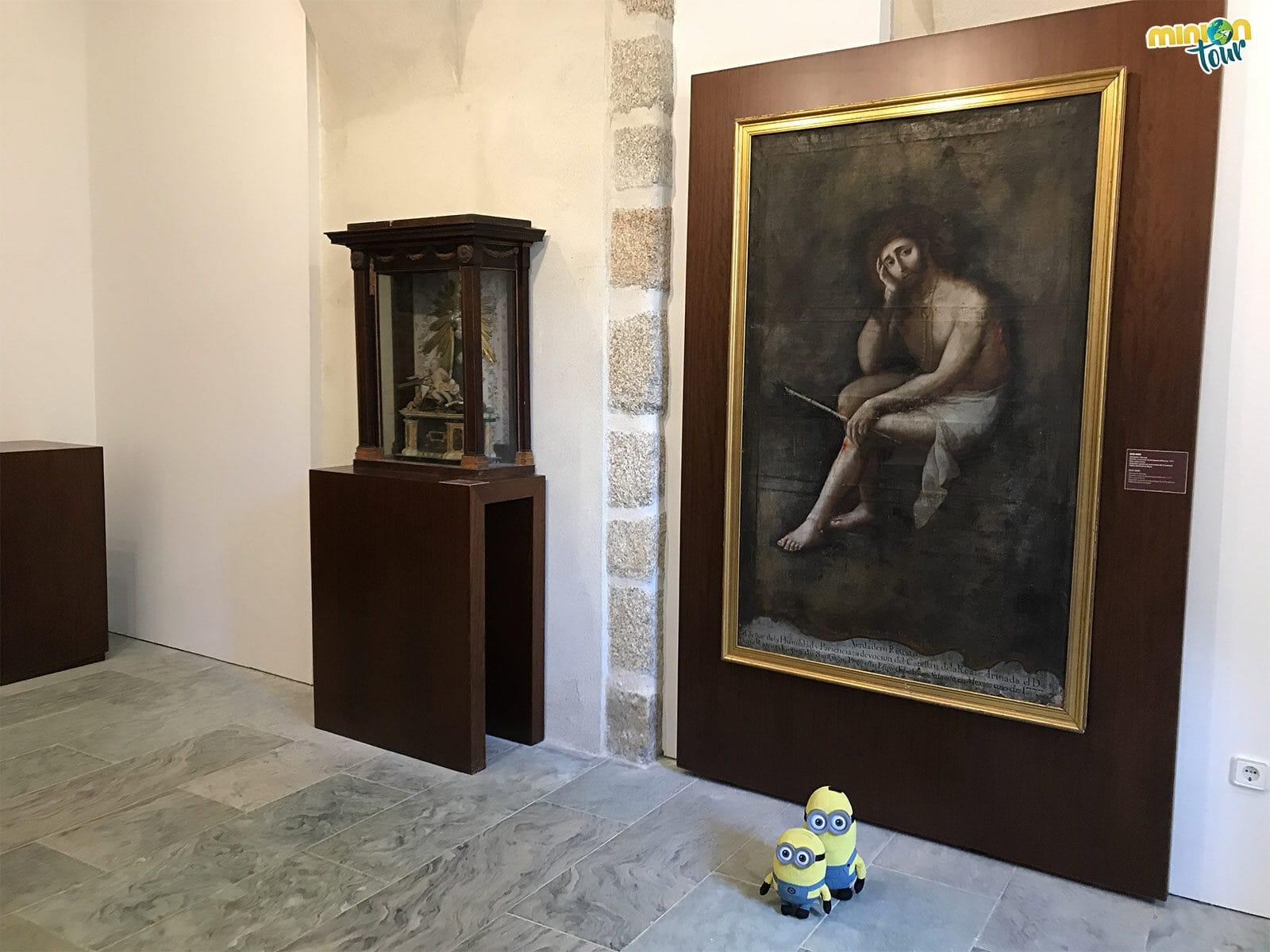 En el Museo de la Catedral de Mondoñedo hemos visto hasta un Ecce Homo