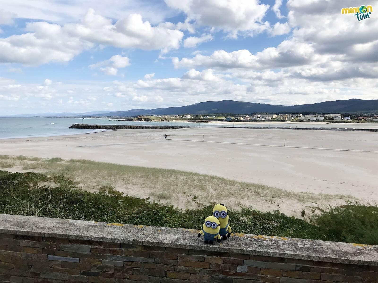 Flipando con la Playa de A Rapadoira durante nuestra ruta por la Costa de Lugo