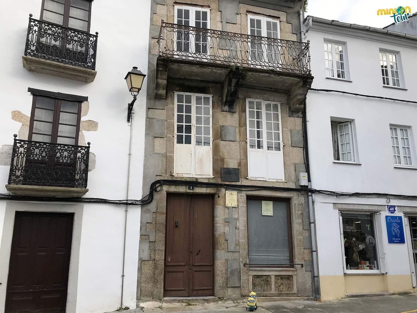 Esta es la casa en la que nació Álvaro Cunqueiro