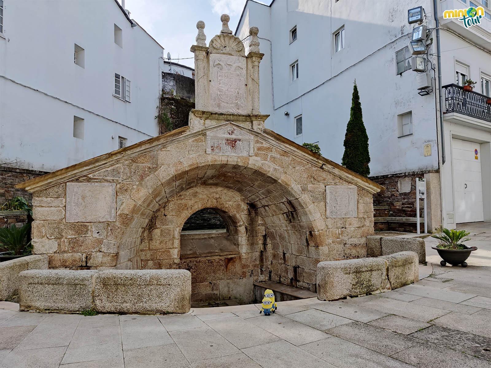 La Fuente Vella es uno de los sitios que ver en Mondoñedo