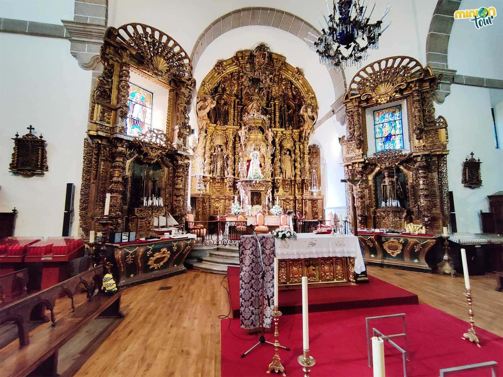 Los retablos de este santuario son muy chulos