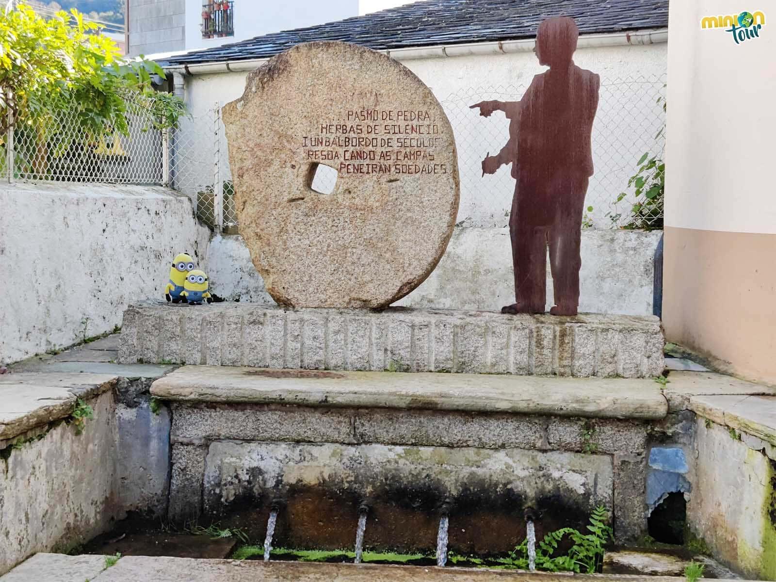 La Fonte dos Pelamios es otro rinconcito curioso que ver en el Barrio de los Molinos de Mondoñedo