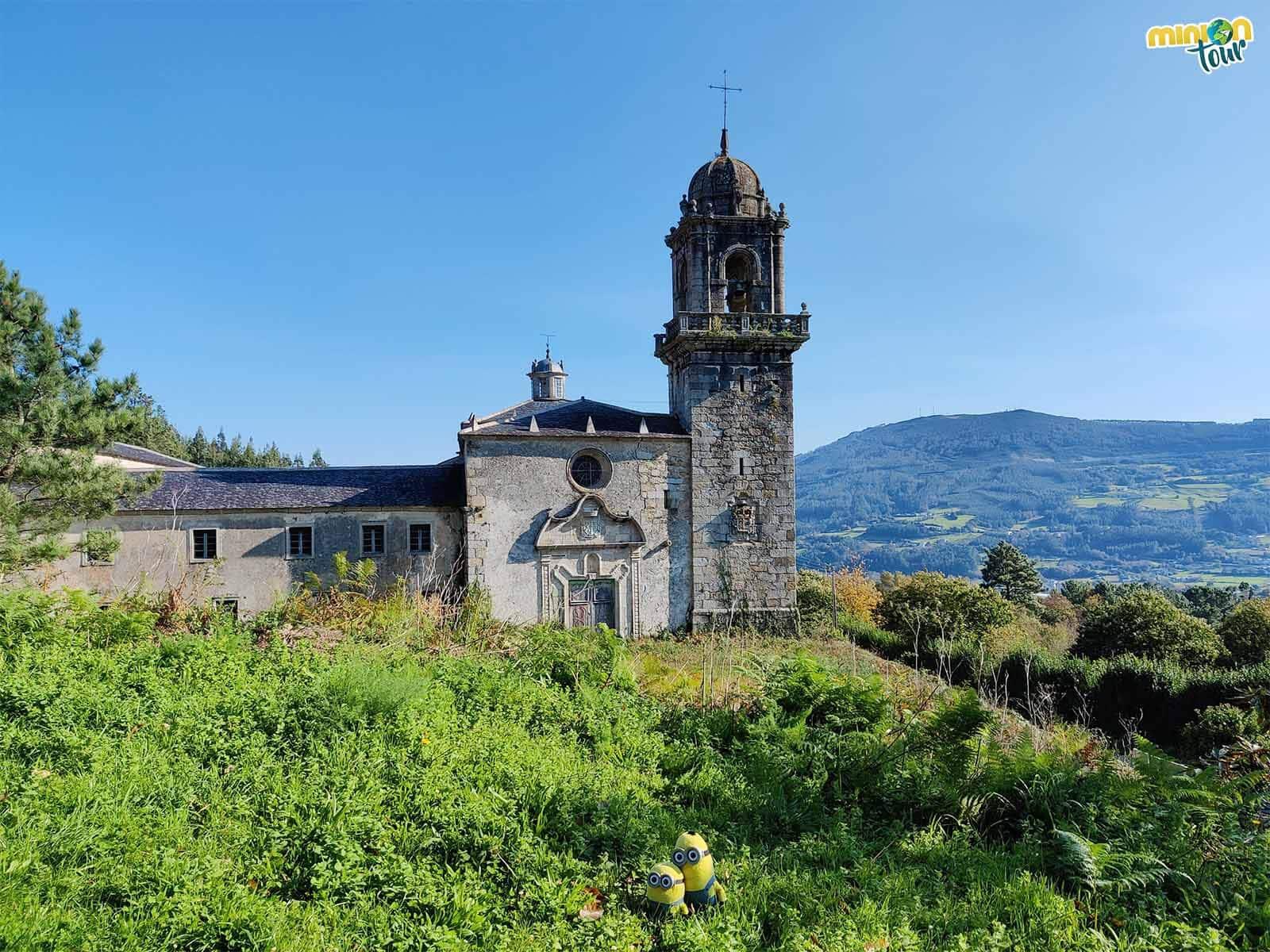 El Monasterio de Os Picos es una de las cosas que nos sorprendió ver en Mondoñedo