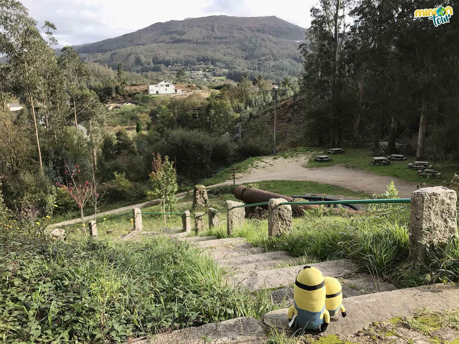 El Área Recreativa da Fervenza es otro sitio guay que ver en Mondoñedo