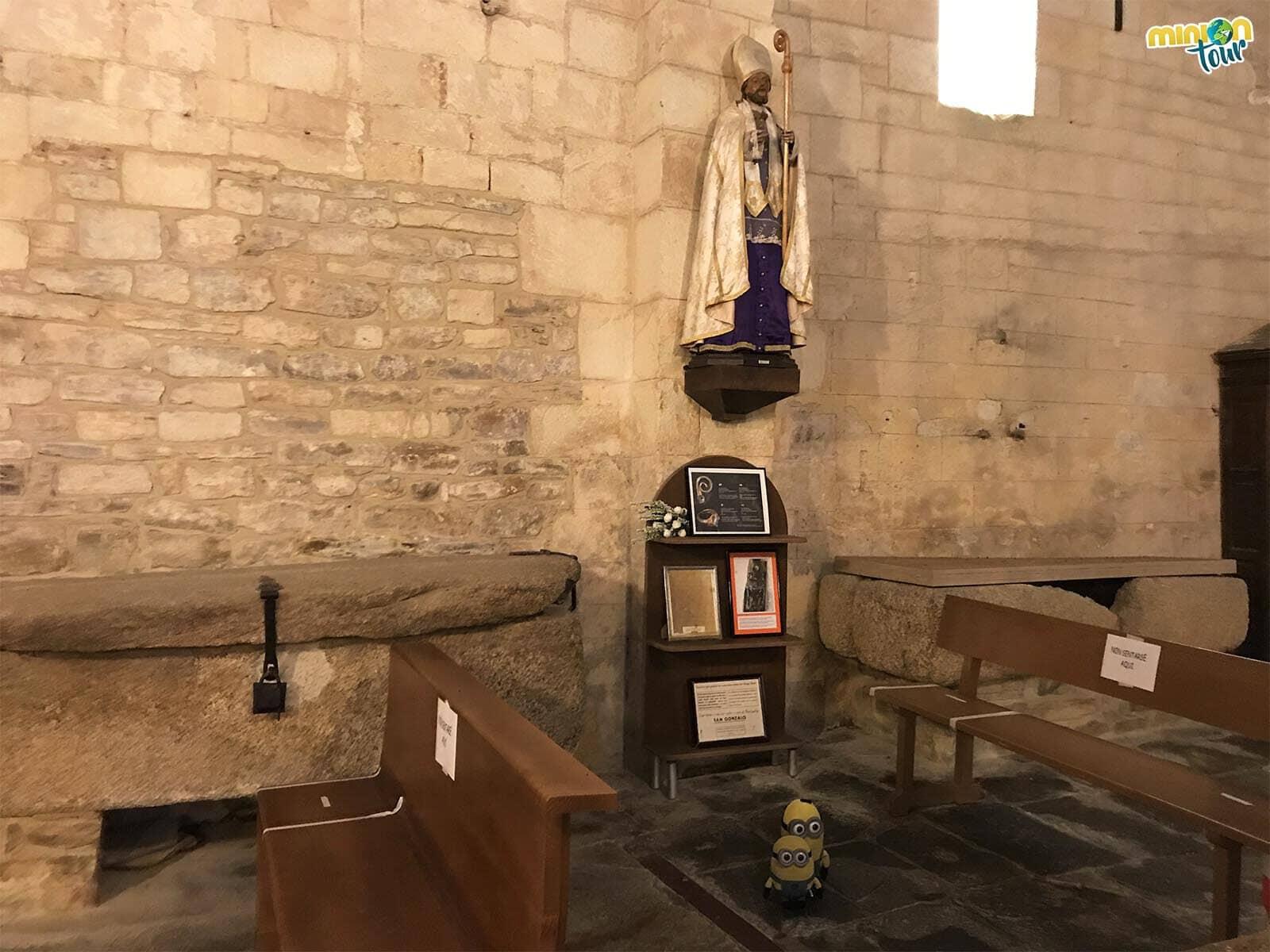 Hemos encontrado el sepulcro del Obispo Santo en San Martín de Mondoñedo