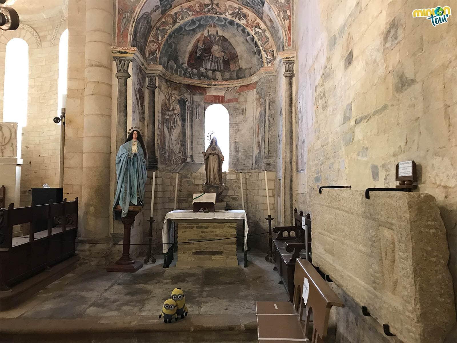 Estamos alucinando con las pinturas románicas más antiguas de Galicia