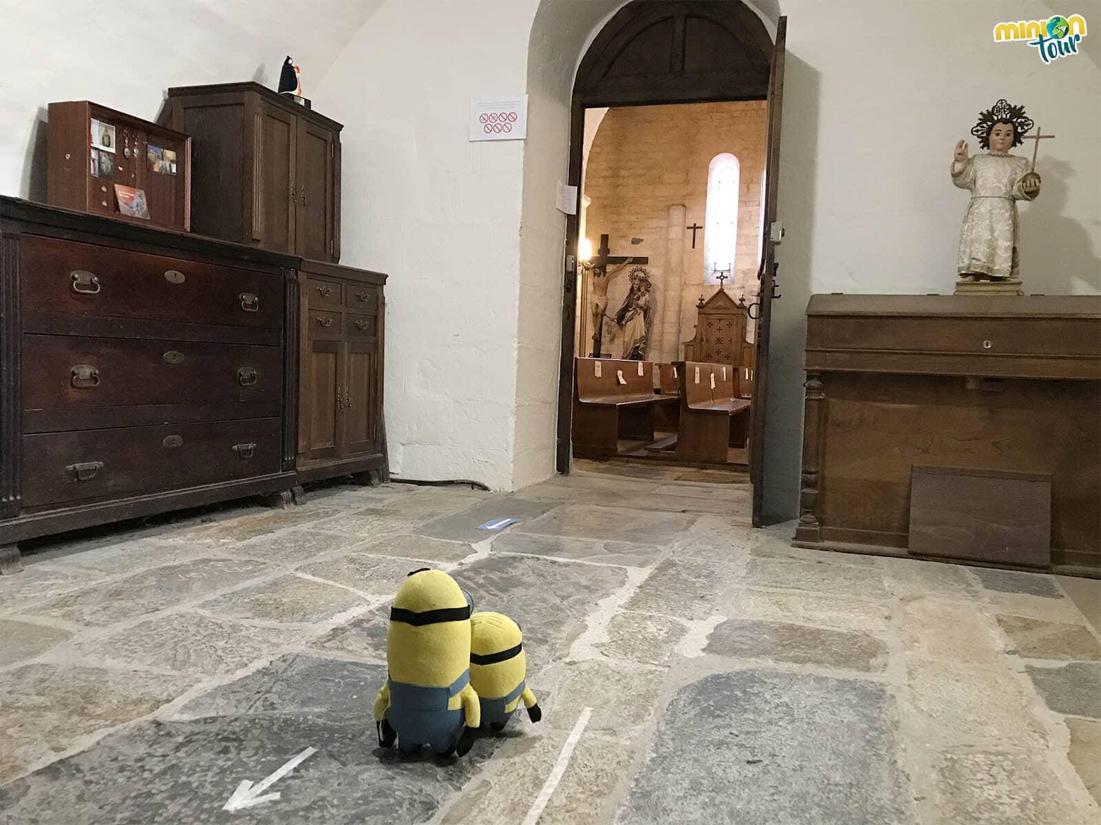 Terminando nuestra visita por la Basílica de San Martín de Mondoñedo