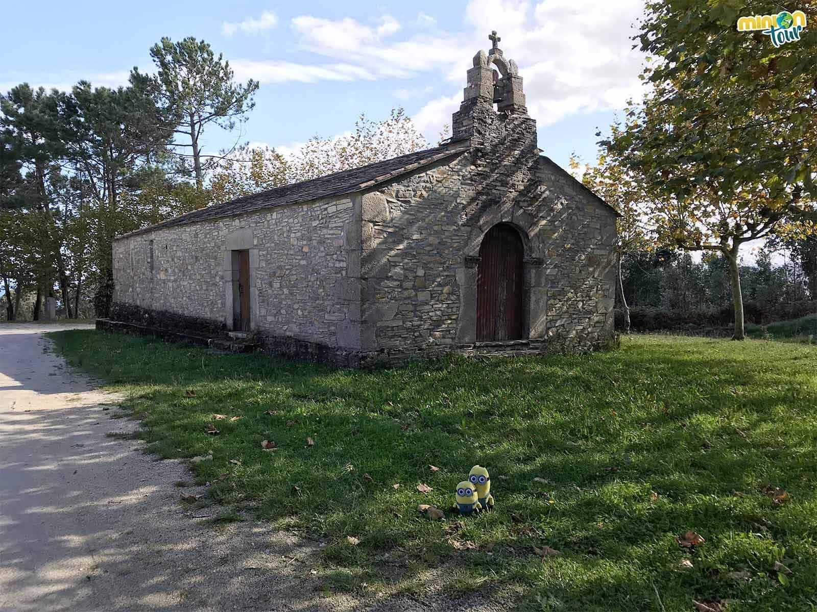 Minions en la Ermita del Obispo Santo en San Martín de Mondoñedo