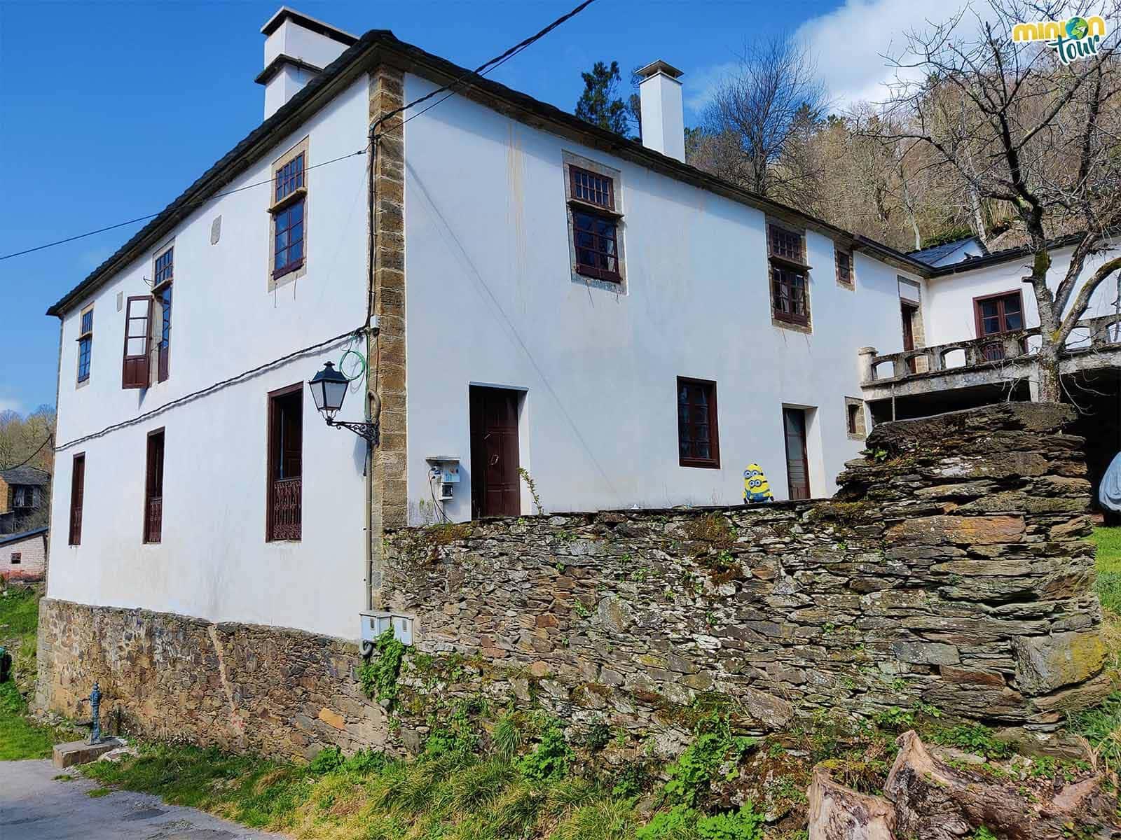 La Casa Pazo es una de las cosas que ver en A Ferrería do Incio