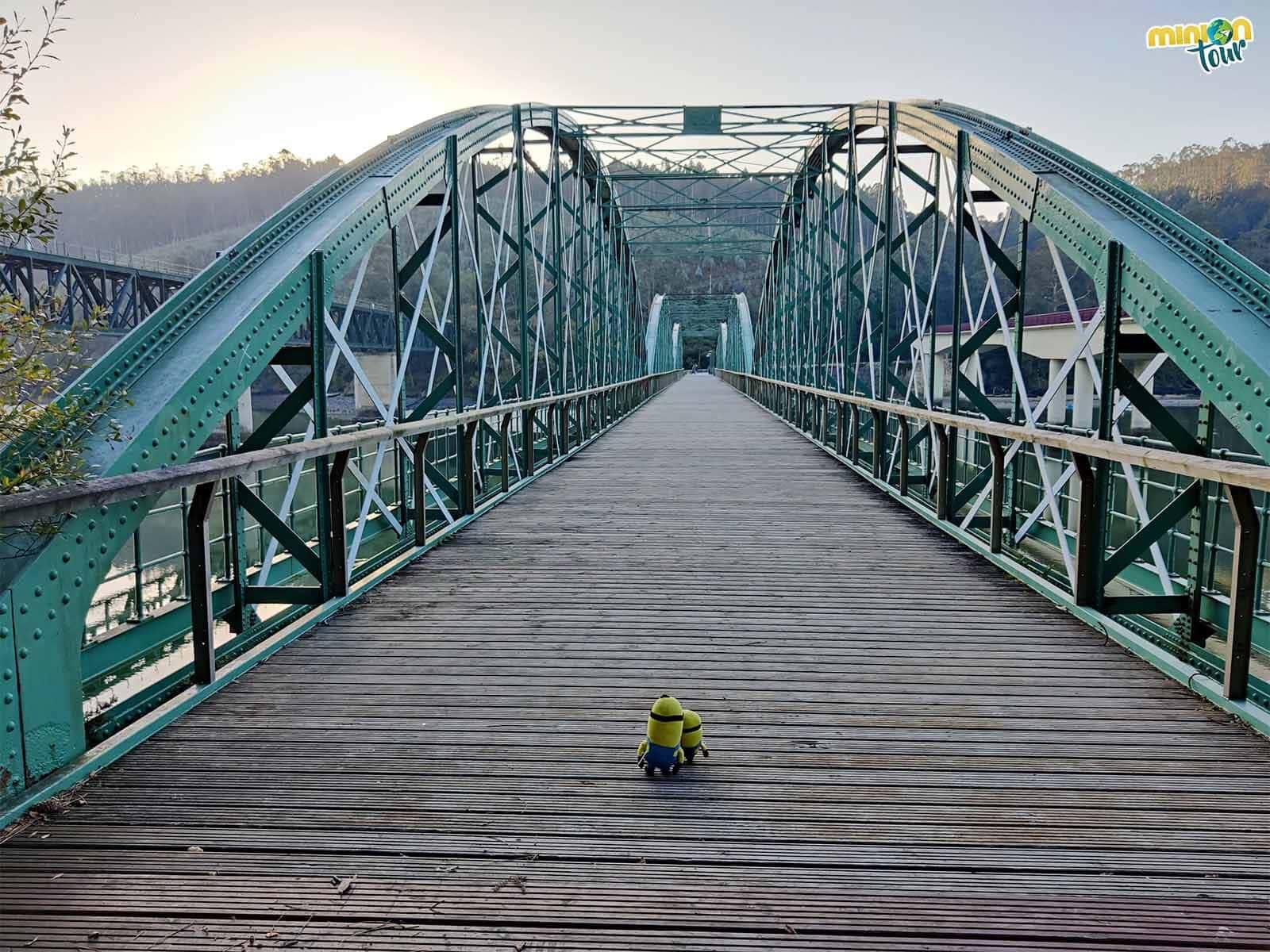 El Puente de O Barqueiro es la primera parada del road trip por la costa de Lugo