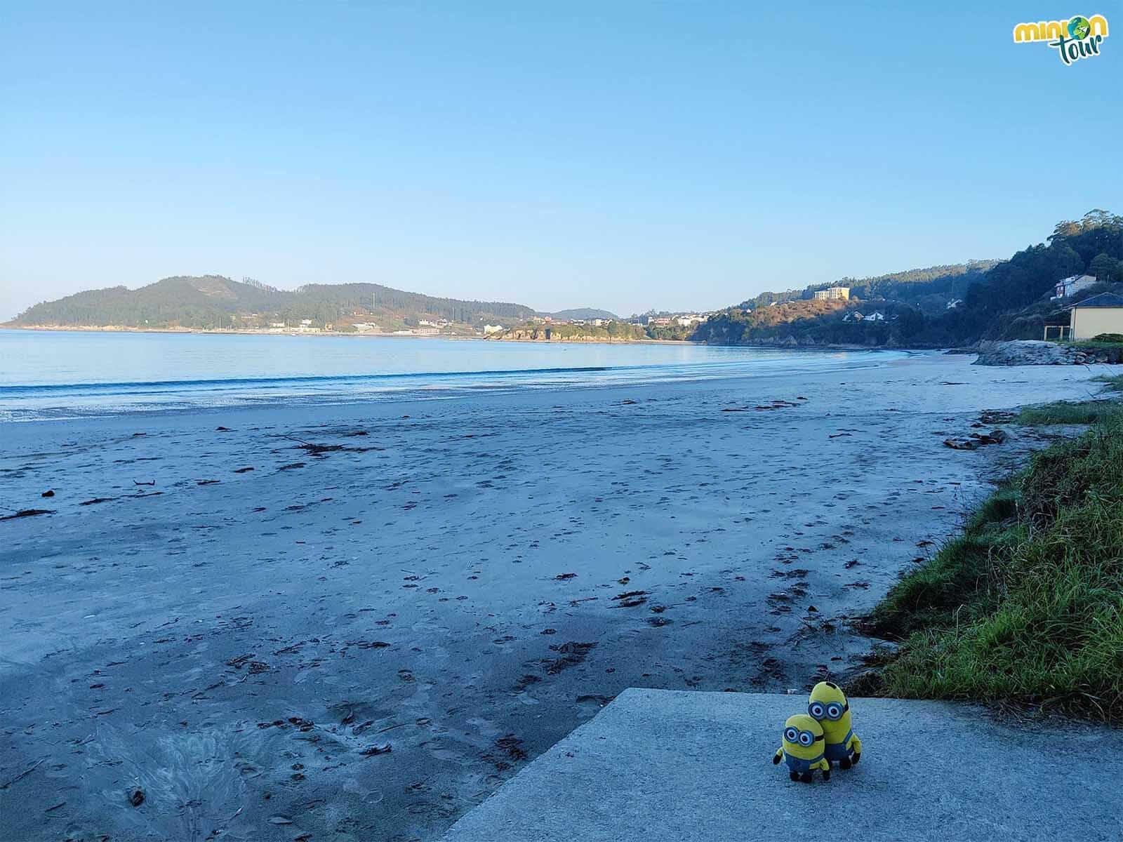 La Playa de Arealonga es una de las más chulis de la Mariña Lucense