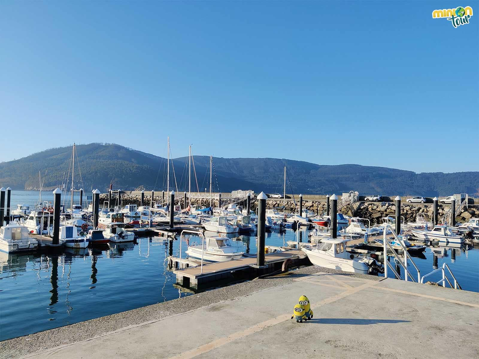 El puerto de O Vicedo es un rinconcito chulo de la costa de Lugo