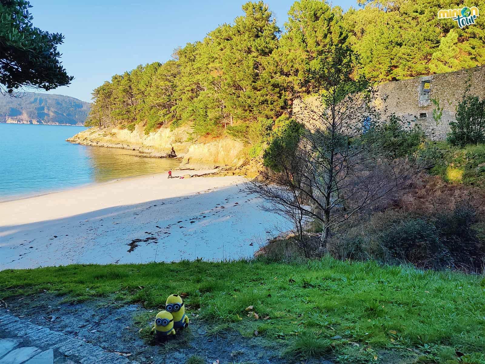 La Playa de Caolín es una de las más salvajes que hemos visto en la costa de Lugo