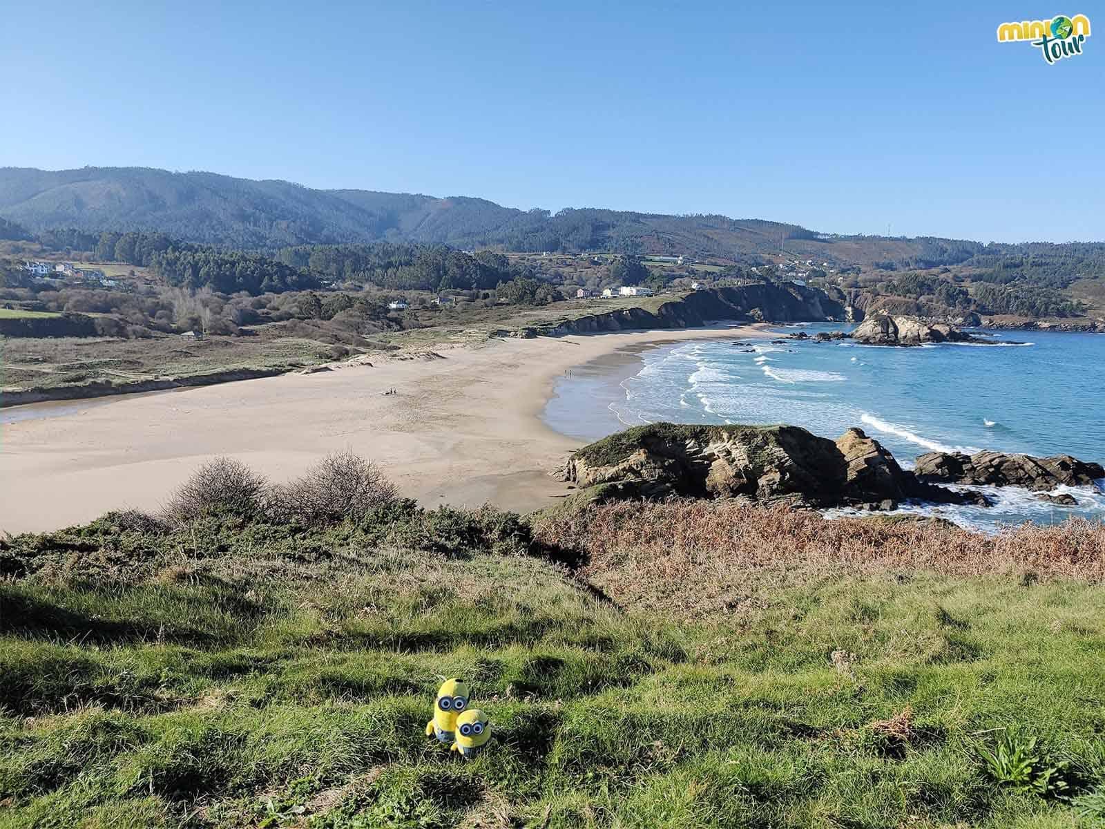 La Playa de San Román es un rincón muy chulo de la costa de Lugo