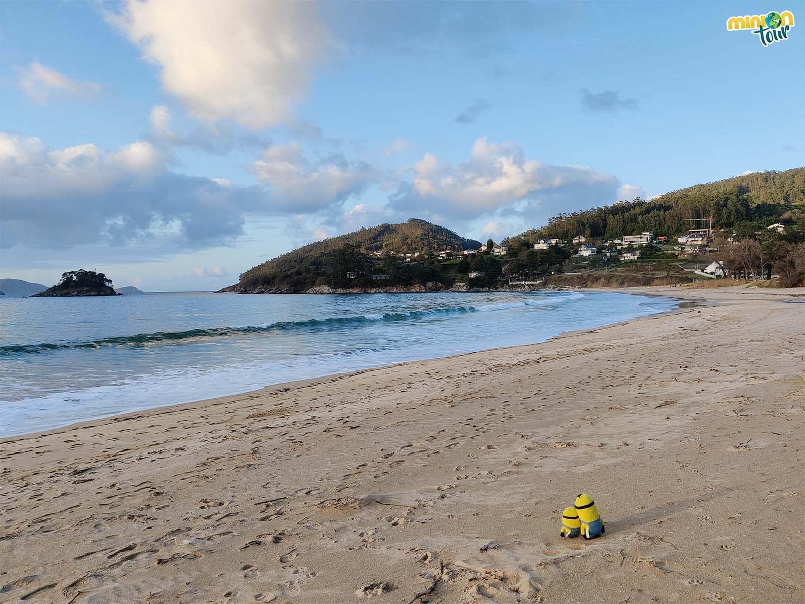 La Playa de Area es otra de nuestras favoritas de la Mariña Lucense
