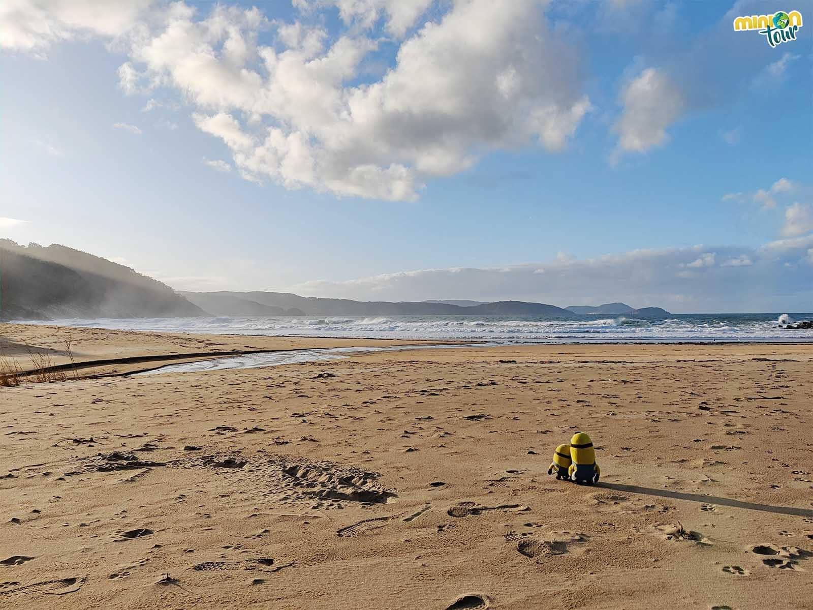 Alucinando con la Playa de Esteiro en la costa de Lugo