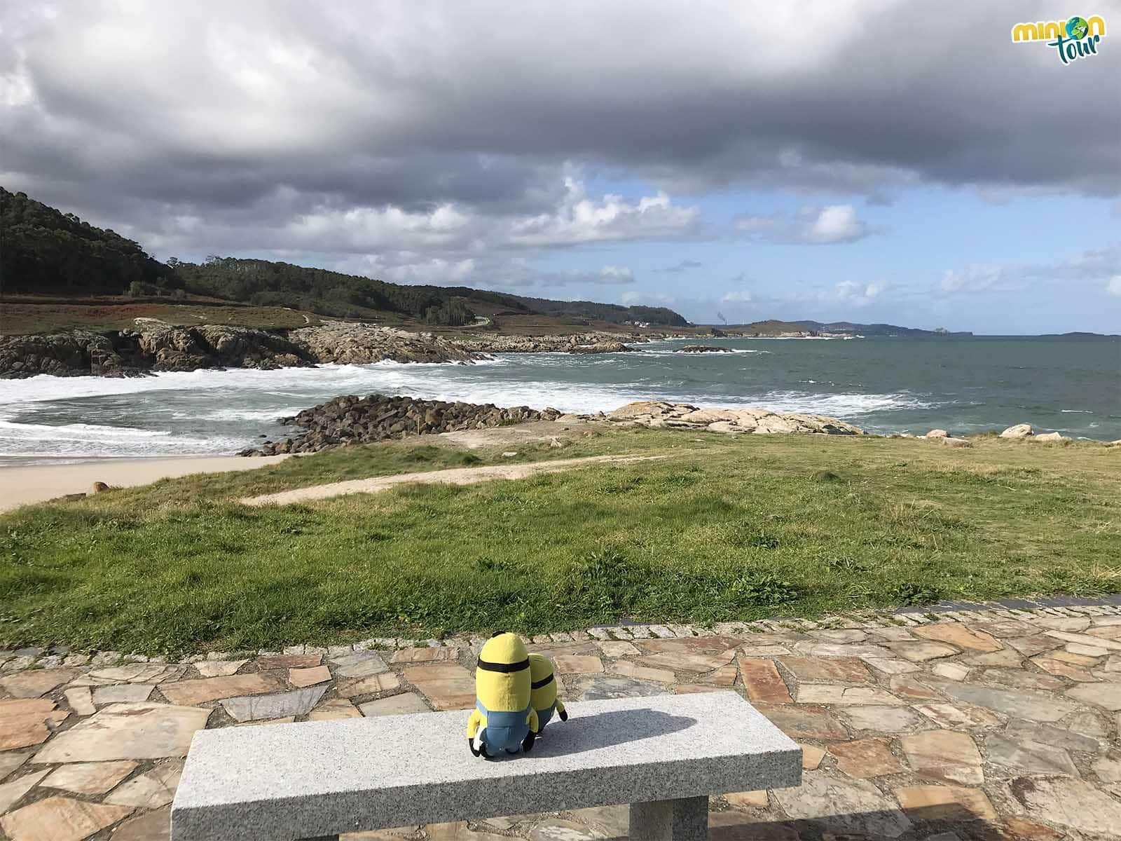 Playa de Marosa en la costa de Lugo