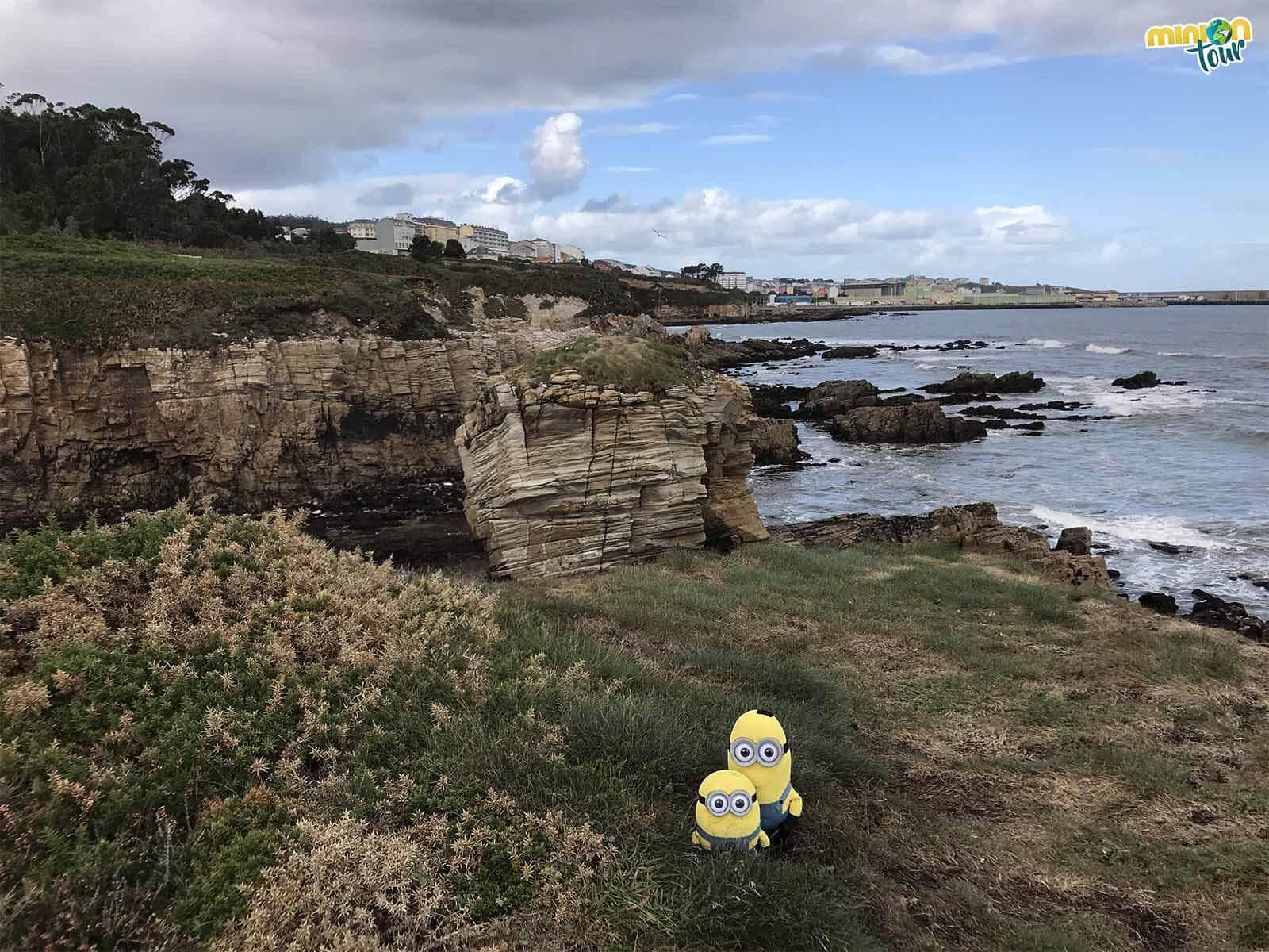 La zona geológica de Perdouro es un rinconcito guay de la costa de Lugo